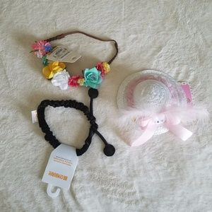NWT Lot of baby girl hair accessories.